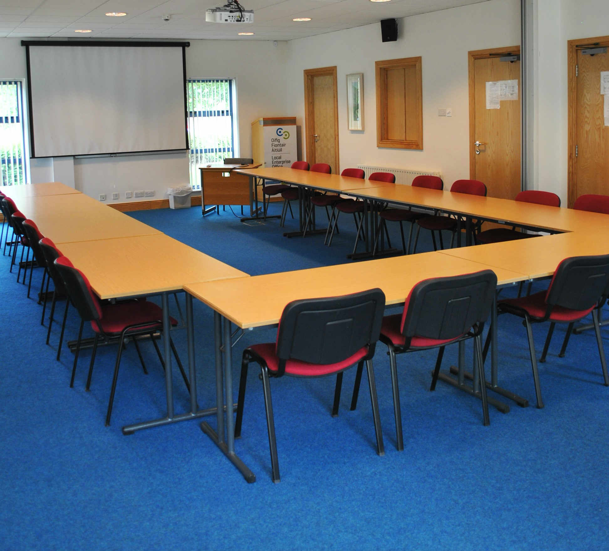 donegal enterprise fund building conference room | letterkenny and